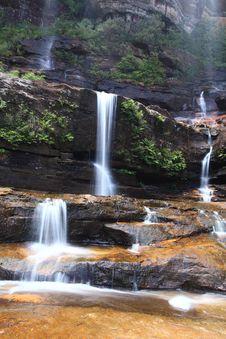 Free Beauty Waterfall Royalty Free Stock Image - 8746016