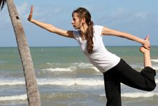 Free Fitness Exersises Royalty Free Stock Photography - 8746157
