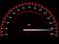 Free Speedometer. Stock Photo - 8746310