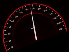Free Speedometer. Royalty Free Stock Image - 8746326