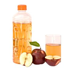 Free Bottle And Glass Of Natural Apple Juce And Apples Stock Photo - 8746400