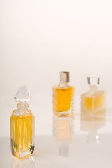 Free Perfume Bottles Stock Photography - 8746462