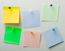 Free Post It Notes Royalty Free Stock Photos - 8746968