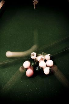 Vintage Billiard Royalty Free Stock Photos