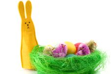 Free Easter Eggs Royalty Free Stock Image - 8748816