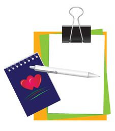 Free Stationery For Office And School Stock Images - 8749024