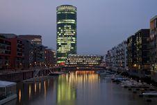 Free Frankfurt Westhafen Stock Image - 8749231