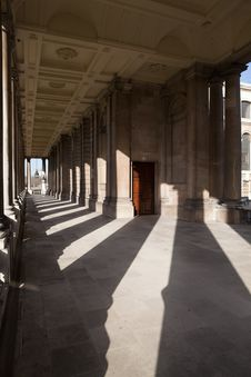 Free Greenwich University Corridor Stock Photography - 8749292
