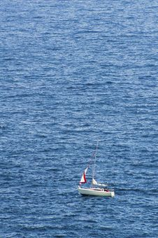 Free Lonely Boat Stock Images - 8749684