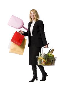 Free Shopping Woman Stock Images - 8749724