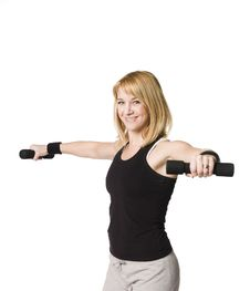 Free Woman Working Out Royalty Free Stock Photo - 8749795