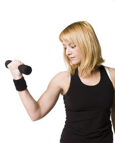 Free Woman Working Out Royalty Free Stock Images - 8749799