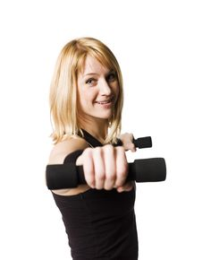 Free Woman Working Out Stock Images - 8749804