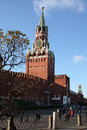 Free Spasskaya Tower Of Moscow Kremlin Stock Images - 8756474