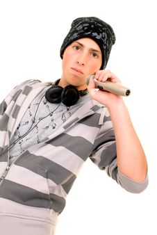 Handsome Hip Hop Youngster Royalty Free Stock Image