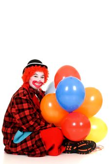 Happy Clown Royalty Free Stock Images