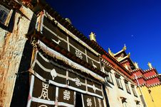 Free Song Zan Lin In Shangarila-famous Tibetan Temple Royalty Free Stock Photography - 8750907