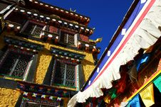 Tibetan Architecture-temples Stock Images