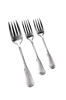 Free Silverware Forks Stock Images - 8751604