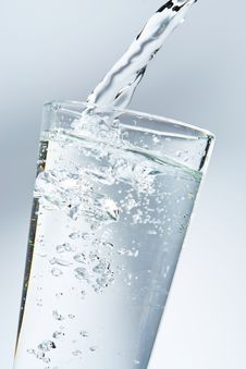 Free A Glass Of Water Stock Photography - 8752192