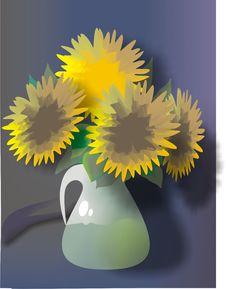 Free Sun Flower 2 Royalty Free Stock Photos - 8755148