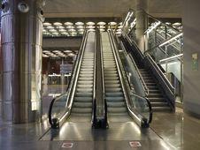 Free Escalator Royalty Free Stock Photography - 8755547