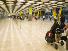 Airport Hall Stock Photos