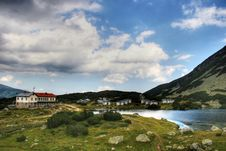 Hotel In The Rila Mountains Stock Image