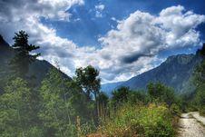 Rila Mountains In Bulgaria Royalty Free Stock Photos