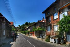 Rila - Small Village In Bulgaria Royalty Free Stock Photos