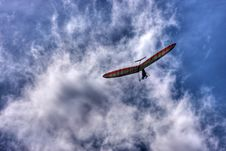 Free Man With Flying Wing Stock Images - 8755814