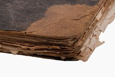 Free Ancient Book On White Royalty Free Stock Photos - 8756978