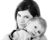Free Young Mum With Son Stock Photography - 8757032