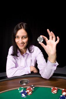 Free Casino Chip Royalty Free Stock Photo - 8757585
