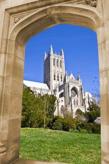 Free Cathedral(Washington National) Royalty Free Stock Photo - 8758135