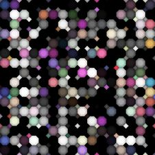 Free Dark Dirty Colored Dots Pattern Royalty Free Stock Image - 8758236