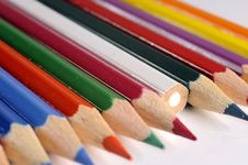 Free Colored Pencils Royalty Free Stock Images - 8758389