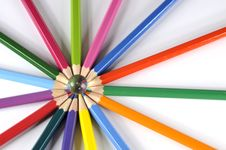 Free Colored Pencils Royalty Free Stock Image - 8758556