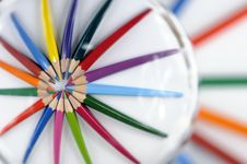 Free Colored Pencils Stock Image - 8758661