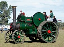 Free The Robey Traction Engine. Stock Image - 87502881