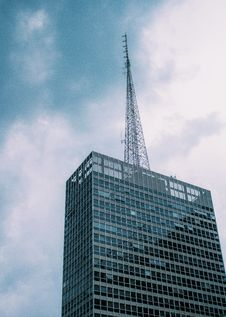 Free Low Angle View Of Skyscraper Against Sky Royalty Free Stock Image - 87503936