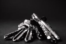 Free Close Up Of Keys Stock Photography - 87505002