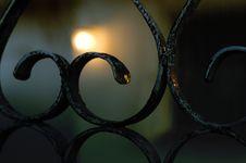 Free Bokeh Gate &x28;with Gradient&x29; Royalty Free Stock Photos - 87587078