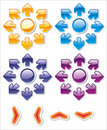 Free Colorful Glossy Web Stickers () Stock Photo - 8767040