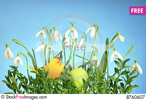 Eastertime Stock Photo