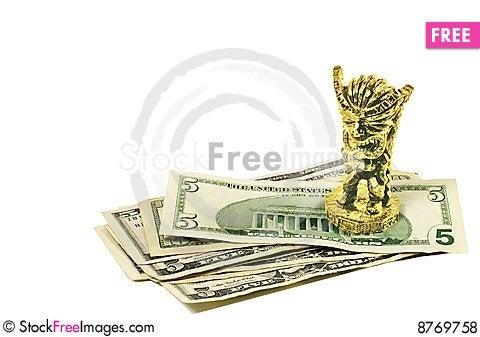 Money magic Stock Photo