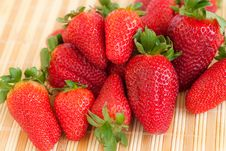 Free Close-up Of Strawberries Stock Photo - 8760210