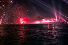 Free Firework And Light Show Royalty Free Stock Photo - 8760295