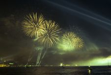 Free Firework And Light Show Stock Photography - 8761982