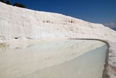 Free Travertine Terrace Royalty Free Stock Images - 8762619
